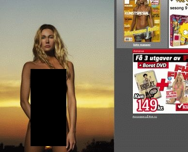 Marianne Aulie i FHM